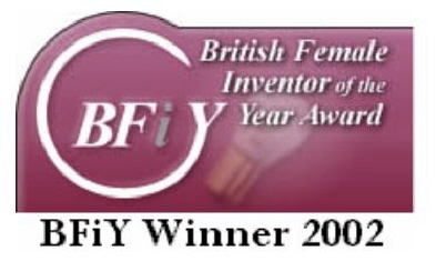 Winner 2002 British Female Inventor of the Year