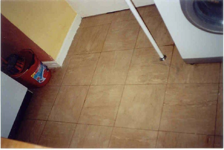 Remove tile from floor